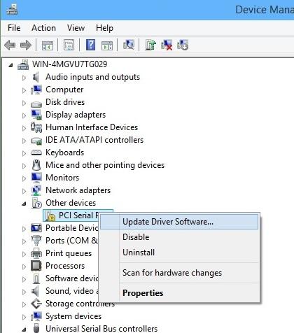 Update Windows System Drivers - Screenshot