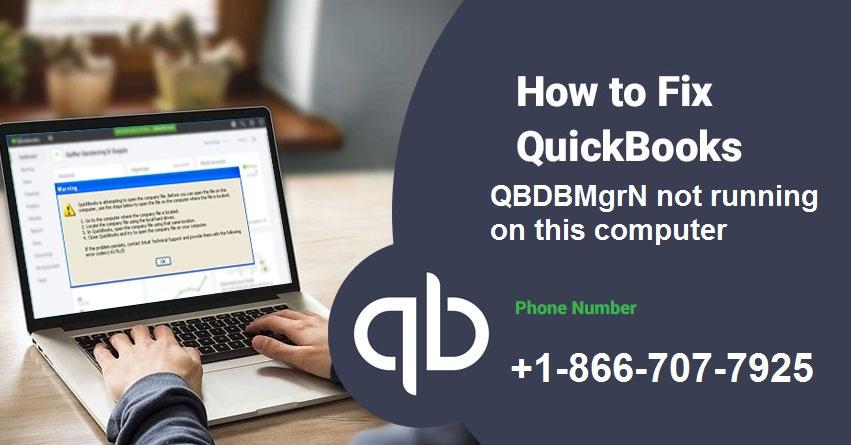 QuickBooks QBDBMGRN is not running error - Featured Image