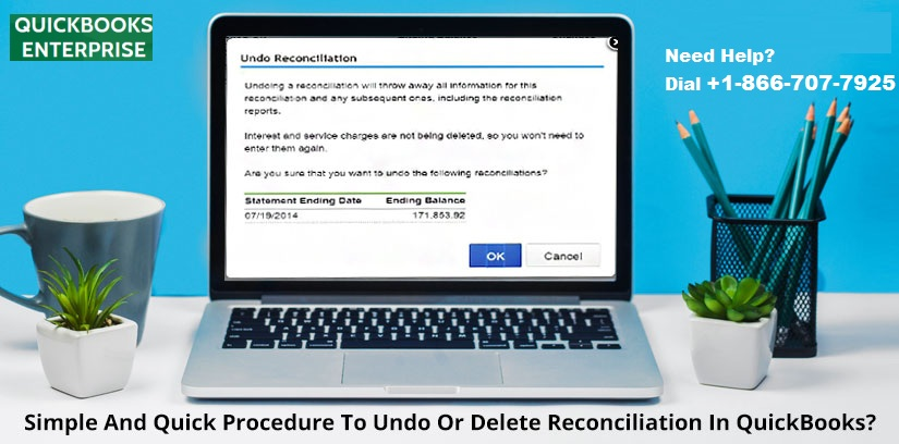 How to Undo or Delete Reconciliation in QuickBooks?
