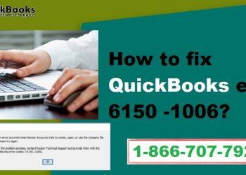 How to troubleshoot QuickBooks error 6150 -1006 - Featured Image