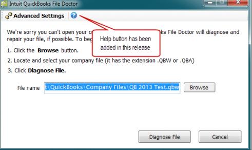 QB file doctor- screenshot 7