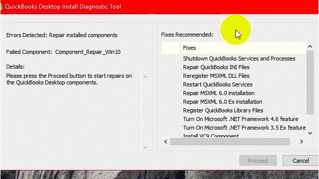 QuickBooks Company File Diagnostic Tool- screenshot 9