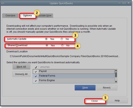 Update QuickBooks Desktop - Screenshot 2