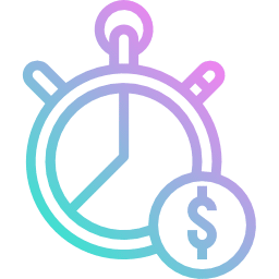 Save your time and money - Icon